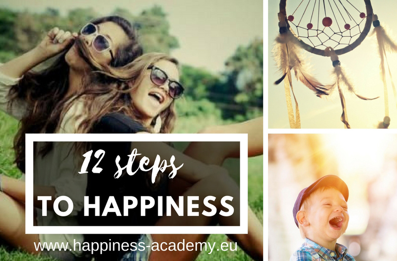 Happiness Academy - 12 steps to happiness