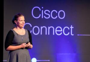Mirna Smidt on Cisco connect