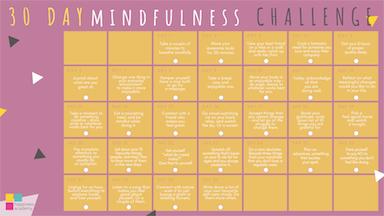 Mindfulness 30 day challenge