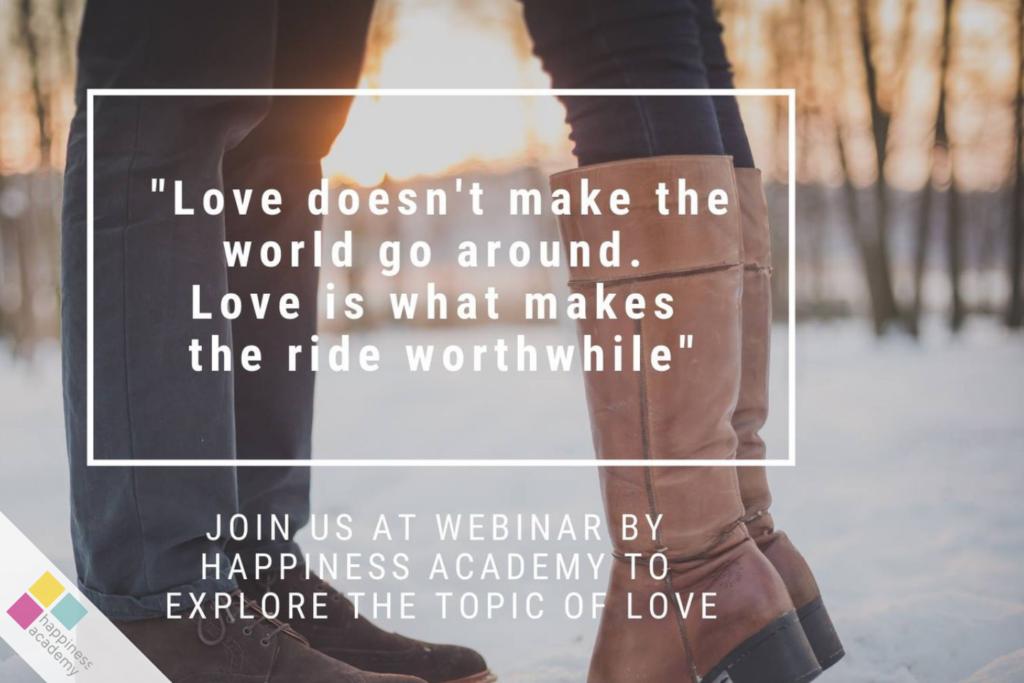 Love - exploring love through 4 different lenses (Pillar 2